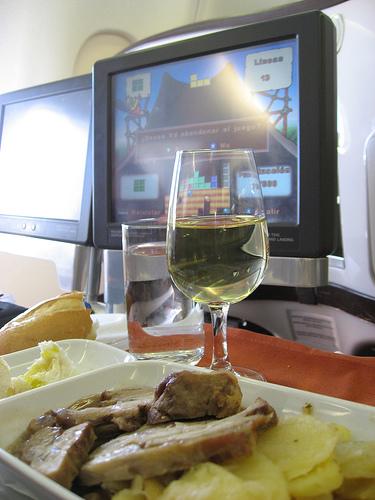 Viajar en Business Class de Iberia.