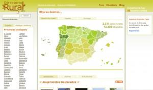 Casas rurales en España, Andorra y Portugal 1