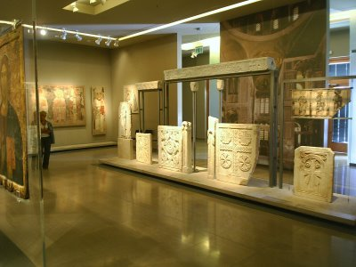 Un poco de historia en el Museo Bizantino de Atenas 1