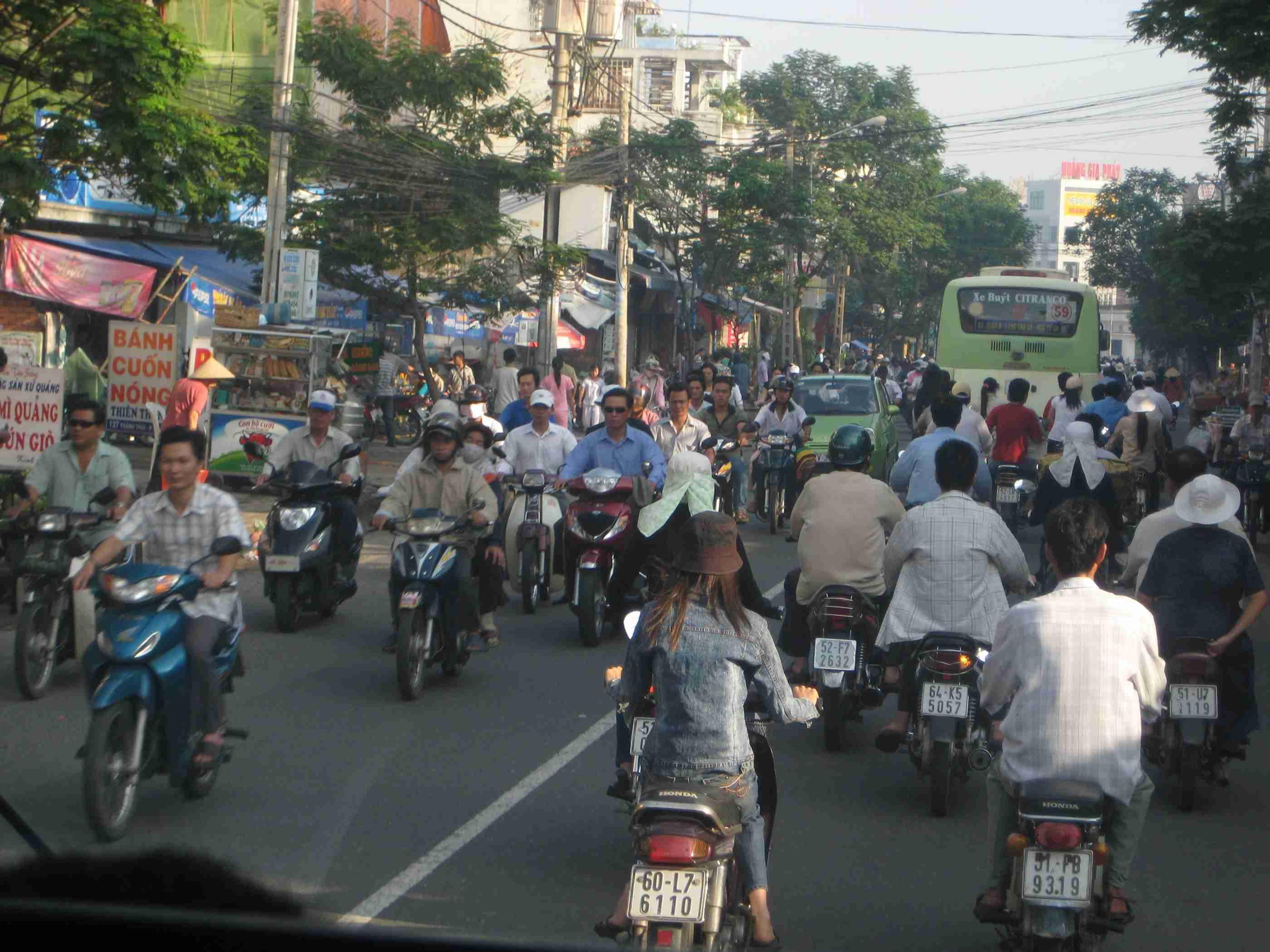 Las motos en Hanoi y Ho Chi Min 7