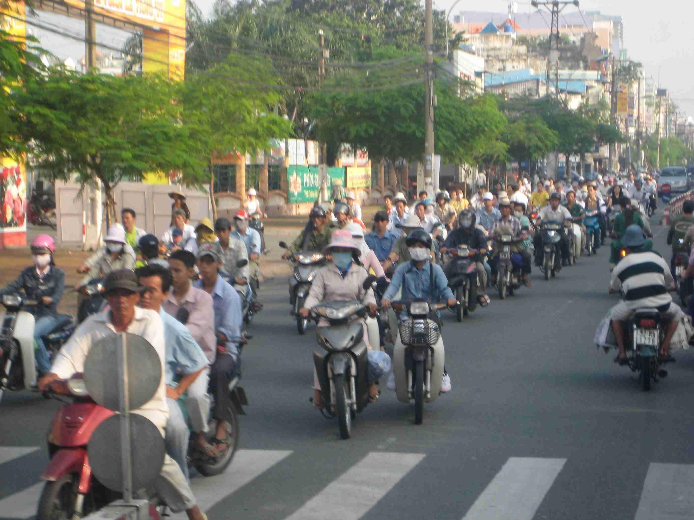 Las motos en Hanoi y Ho Chi Min 3