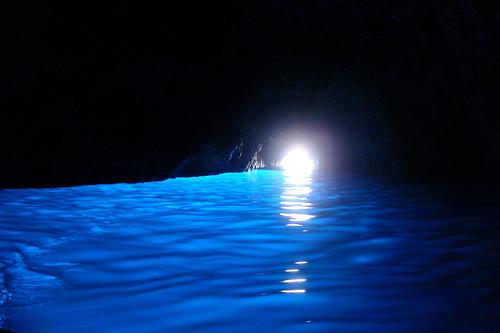 La Gruta azul de Capri