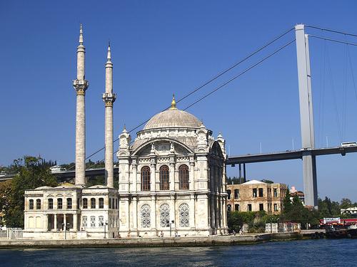 Beyoglú: tiendas y restaurantes en Estambul.