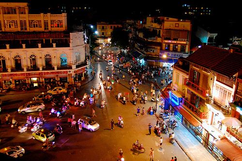 Las motos en Hanoi y Ho Chi Min