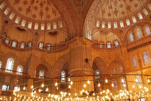 La mezquita Azul, la Basílica de Santa Sofía y el palacio Topkapi.