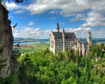 Visita la Alemania medieval, Neuschwanstein 1