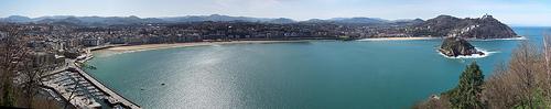 Guía de San Sebastián - Donostia. Cómo llegar.