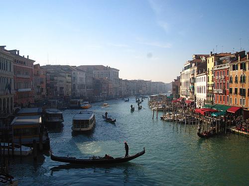 Moverse por Venecia