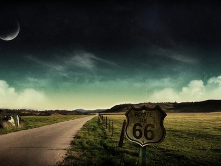 Pisa el acelerador y recorre la Ruta 66