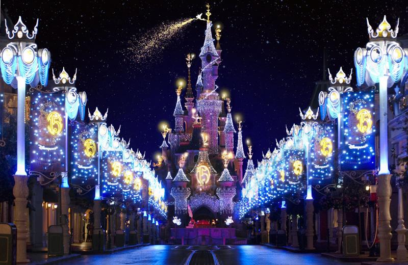 La Navidad en Disneyland París
