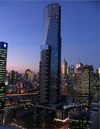 Torre Eureka, el orgullo de Melbourne
