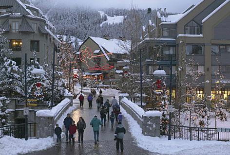 El pueblo de Whistler