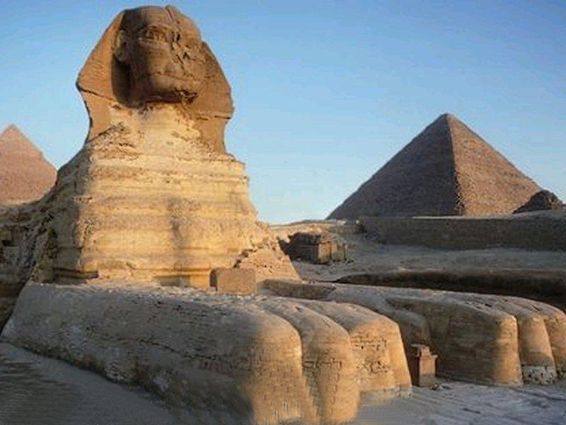 La Pirámide de Gizeh y la Esfinge