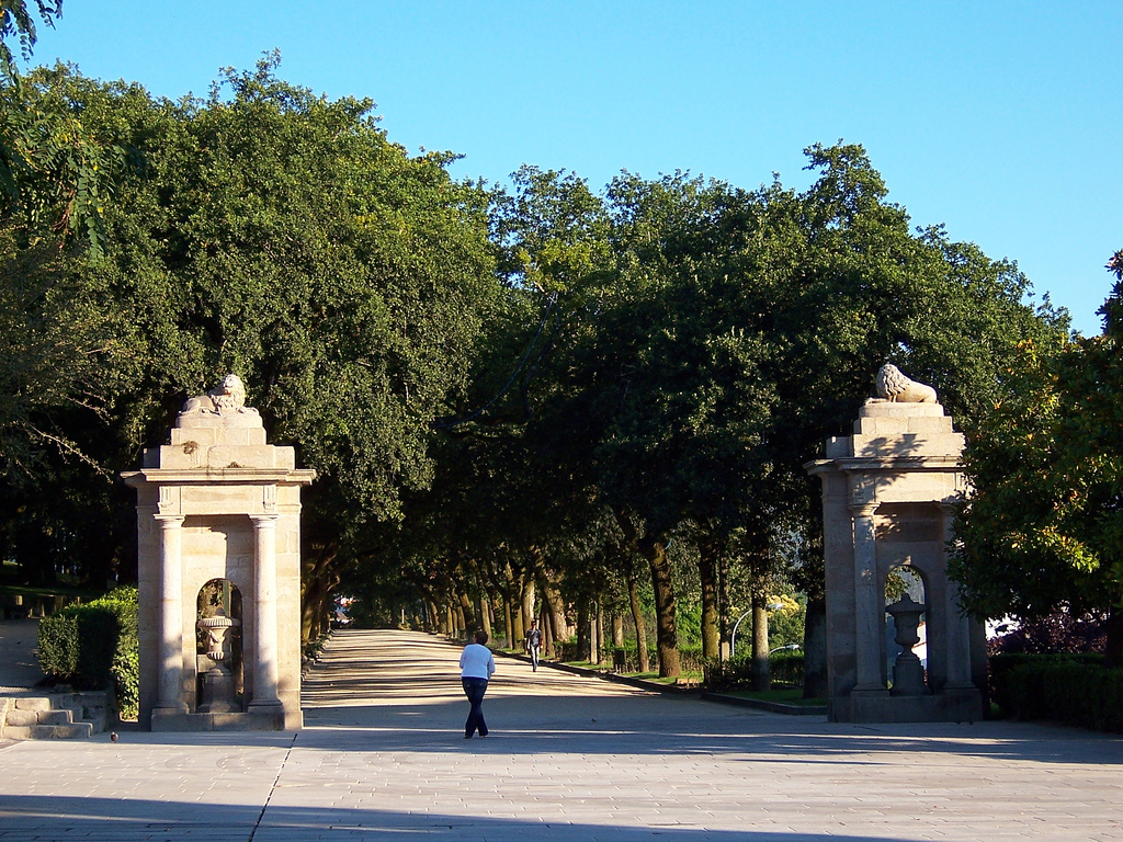 La Alameda de Santiago de Compostela, el pulmón verde de la capital de Galicia