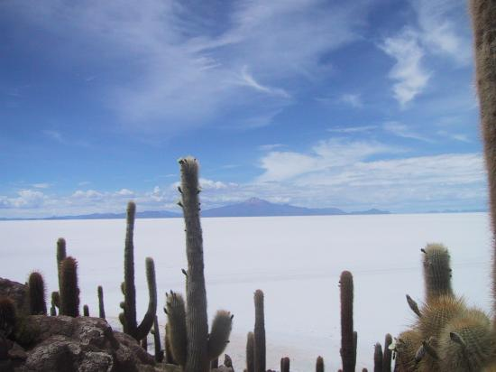 El Salar de Uyuni, destino extico en Bolivia