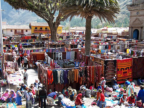 La famosa Feria de Pisac en Cuzco