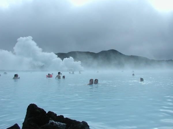 Lago Azul de Islandia