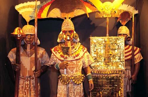 El Señor de Sipán en Lambayeque, Perú 1