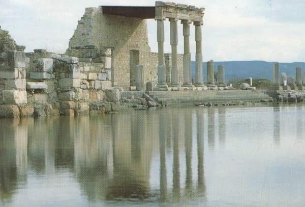 La antigua ciudad de Mileto en Turquía