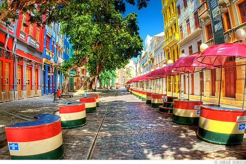 Un paseo por el centro histórico de Recife en Brasil