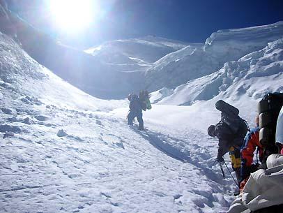 Para escalar el Huascarán 1