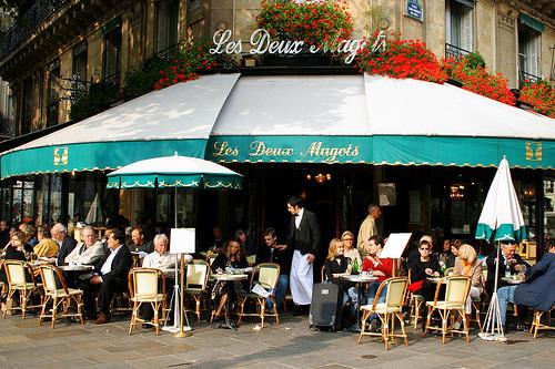 Los cafés bohemios de París