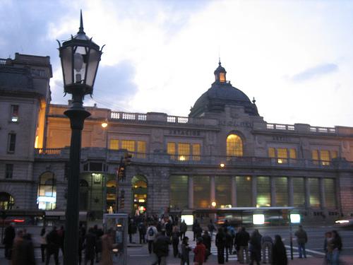 Estacion de Retiro en Buenos Aires