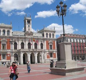El centro histórico de Valladolid 2