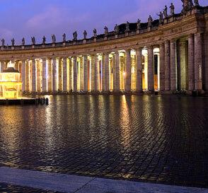 Para conocer la Plaza de San Pedro en el Vaticano 2