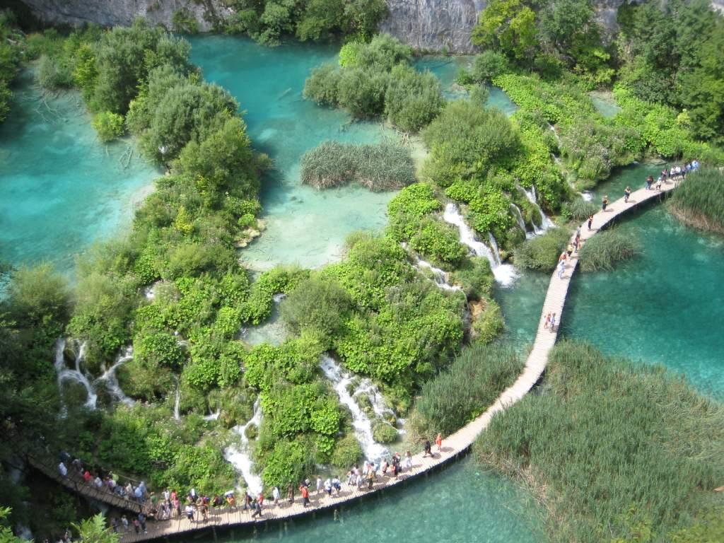 Parque natural de Plitvice, Croacia.