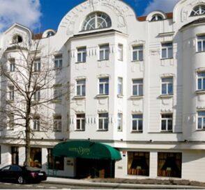Hoteles de estilo Art Nouveau en Praga 1