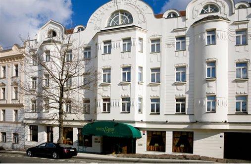 Hoteles de estilo Art Nouveau en Praga