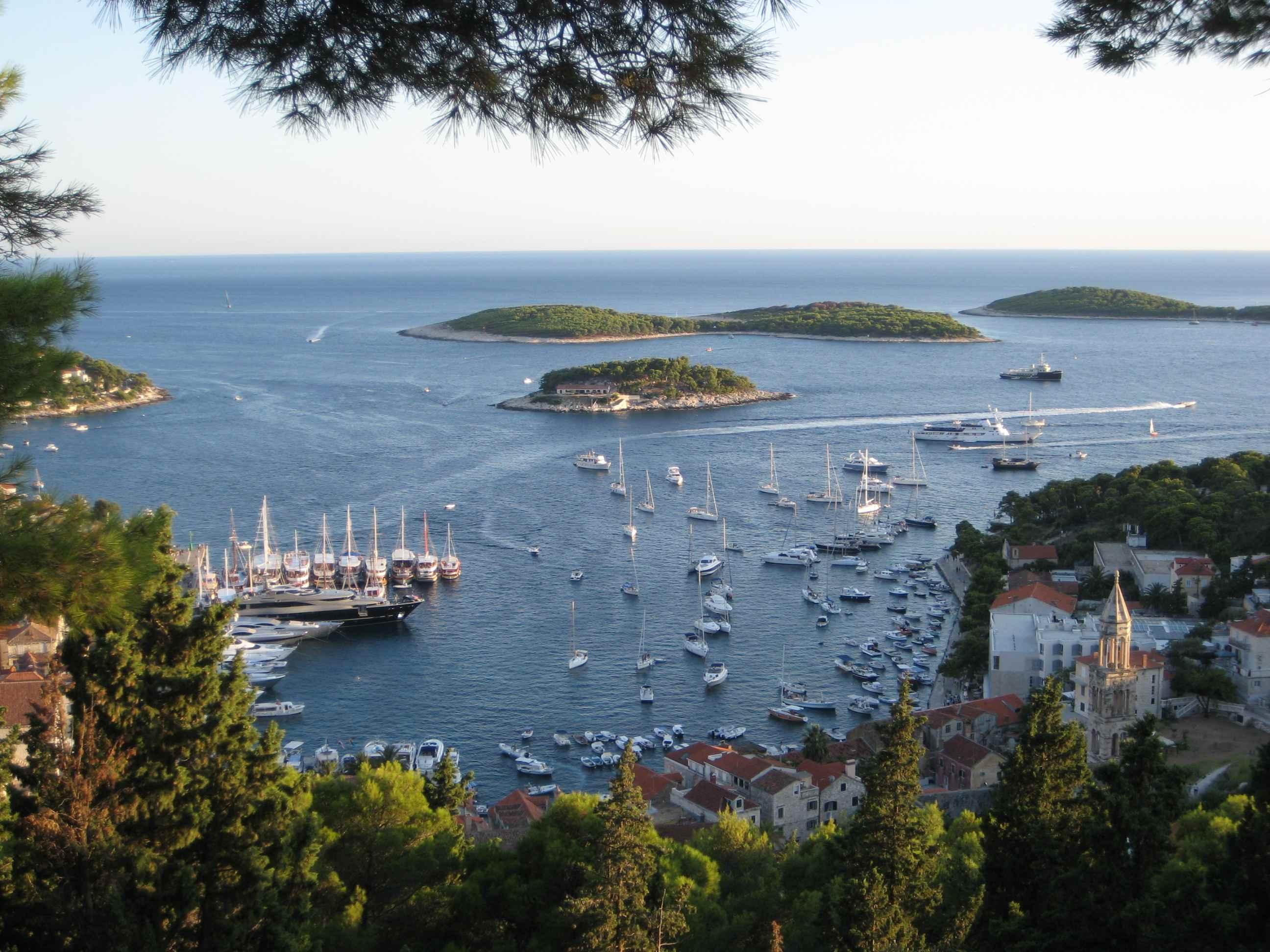 Viaje por la costa de Croacia