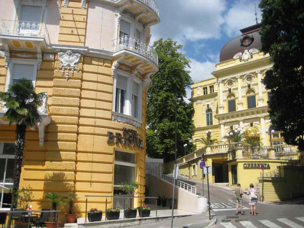 Rijeka y su vecina Opatija