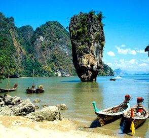 La exótica bahía de Phang-Nga en Tailandia 2