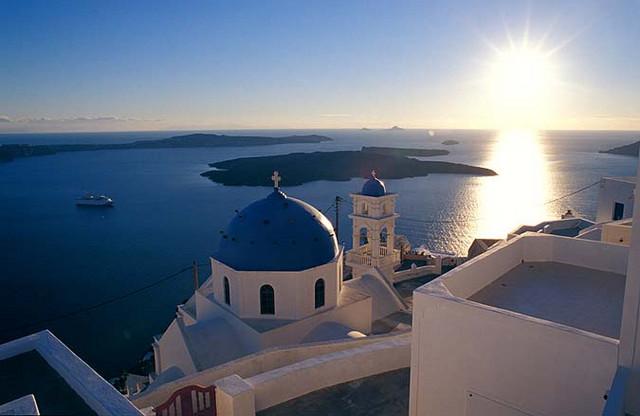 Un crucero por Grecia y sus islas