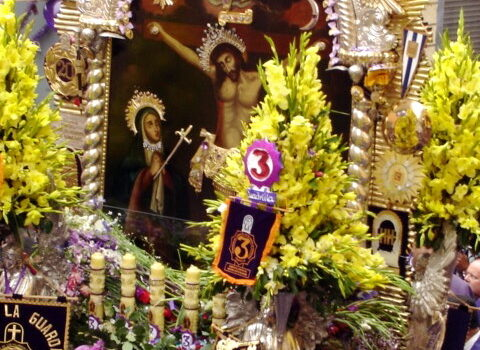 La procesión del Señor de los Milagros 1