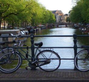 Los canales de Amsterdam  1