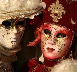 El Carnaval de Venecia, máscaras de color 1