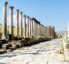 Jerash, mezcla de occidente y oriente 1