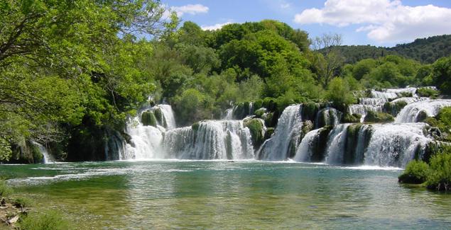 El parque natural de Krka