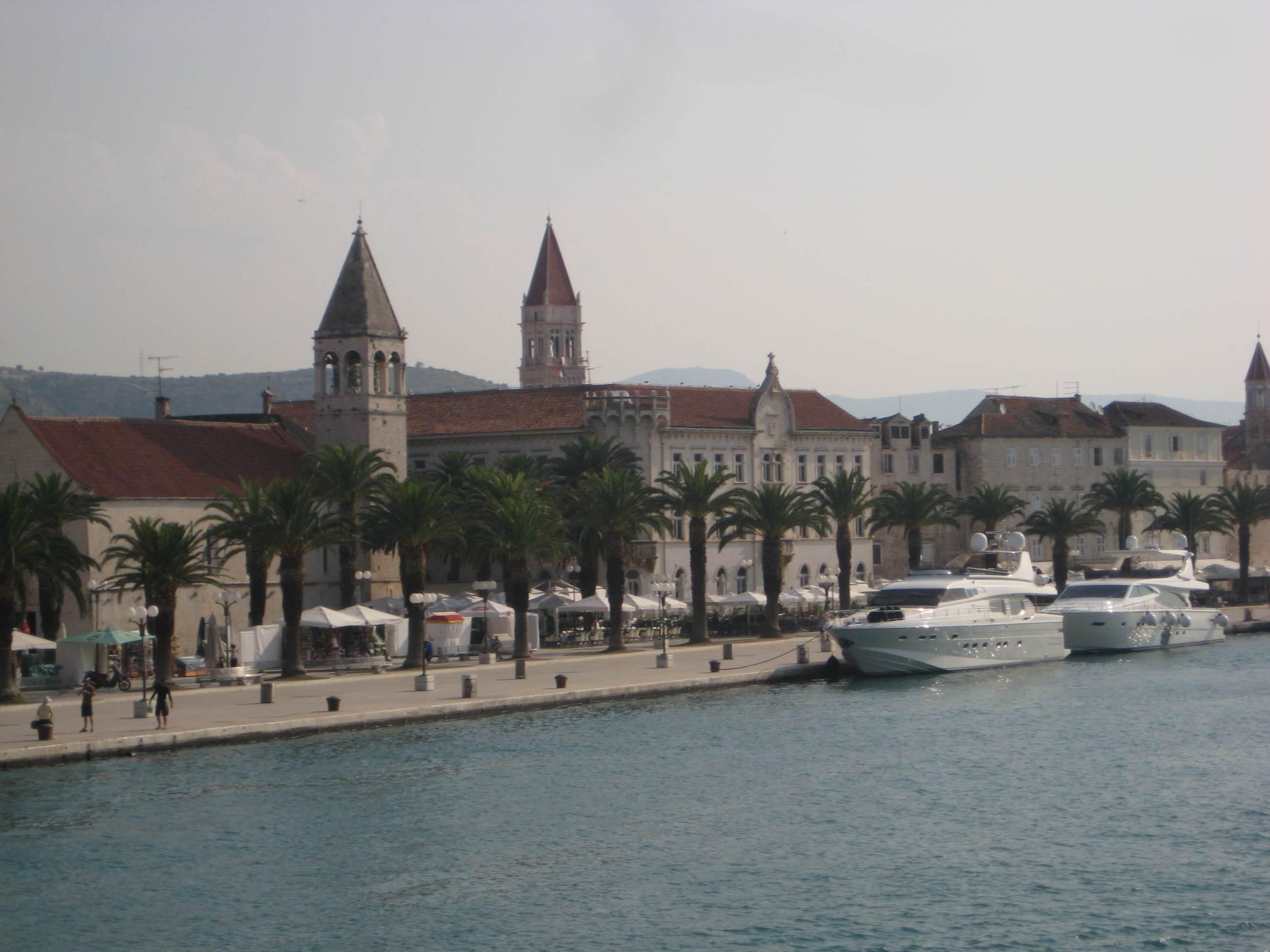 Trogir, una pequeña joya en la costa de Croacia