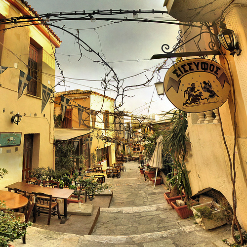 Plaka, el barrio más atractivo de Atenas
