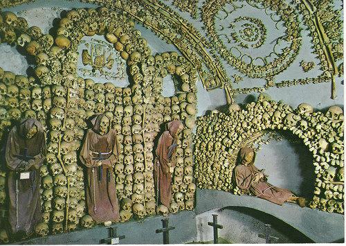 Cripta de los Frailes Capuchinos en Roma
