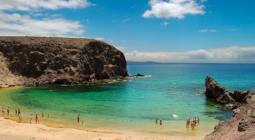 Lanzarote, verano e invierno en las Canarias