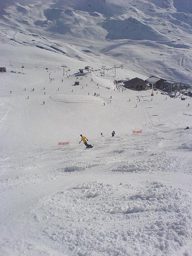 Val Thorens, el paraíso del esquiador