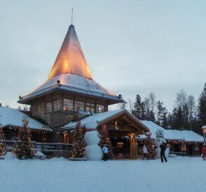 La Ciudad de Santa Claus y su Oficina en Finlandia 1