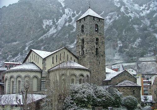 Andorra, blanco y románico 9