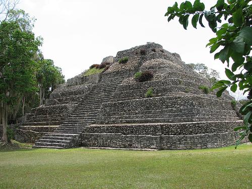 Las ruinas mayas de Chacchoben en México