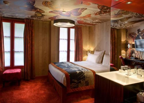 Tres hoteles curiosos en París